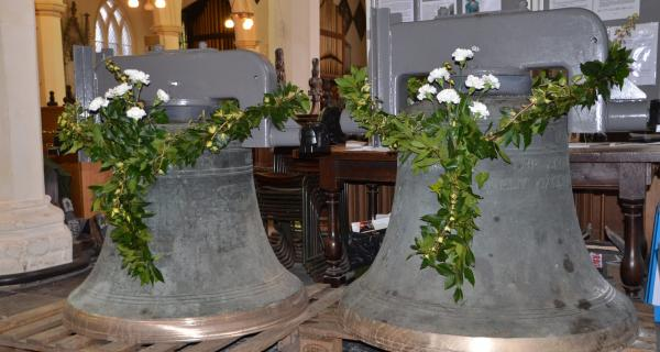 We're celebrating the refurbishment of the bells and the re-opening of the church; on Sunday 29th April 2018, 3.30pm.